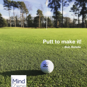 And you think you can putt?!